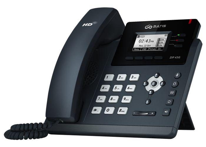 Zultys ZIP 37G IP Phone