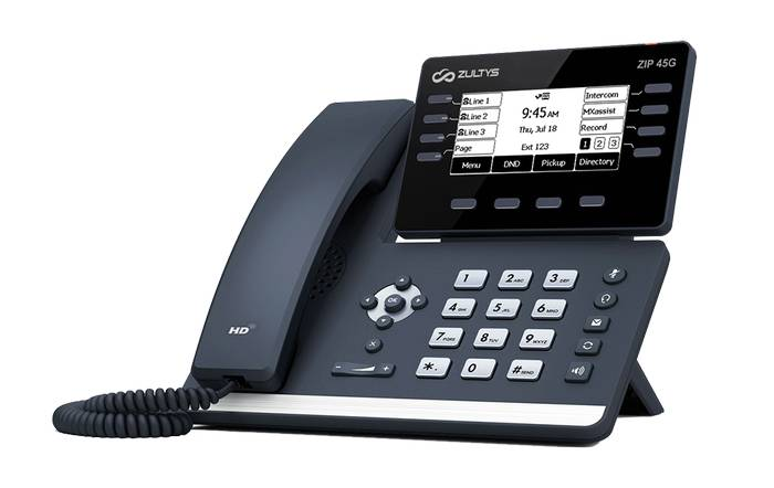 Zultys ZIP 37G IP Phone