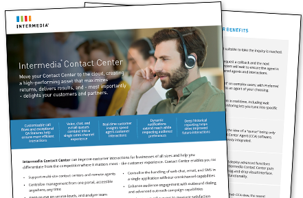 Contact Center Data Sheet