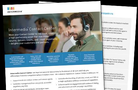 Contact Center Data Sheet
