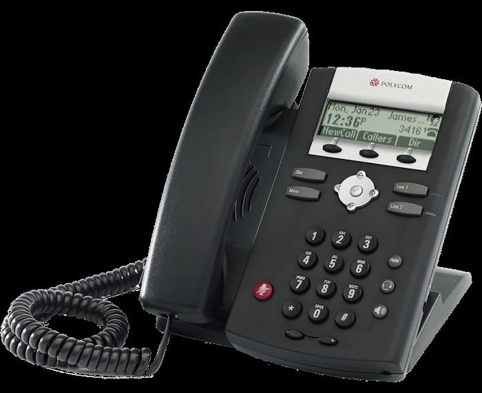 Polycom IP 331 2-Line IP Phone