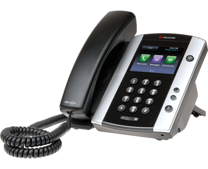 POLYCOM VVX 500 8-LINE IP PHONE